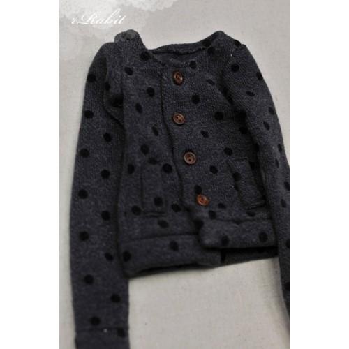 1/4 Cute Round Neckline Sweater coat KC020 1631