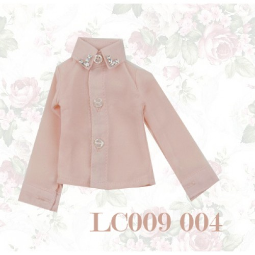 [Limited] 1/4* Chiffon+Stone Shirt - LC009 002 White