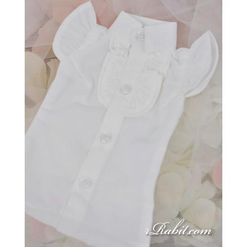 1/3 SD10/13/16 DD Butterfly-sleeve shirt shirt - LC015 1703 (White)