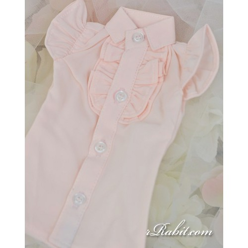 1/4 MSD MDD Holiday AngelPhilia - Butterfly-sleeve shirt shirt - LC015 1704 (Light Pink)