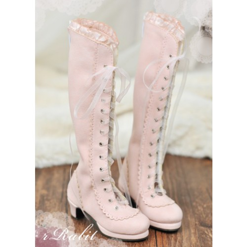 1/3 SD10/13 - LG002 Carving long boot - Shell Pink