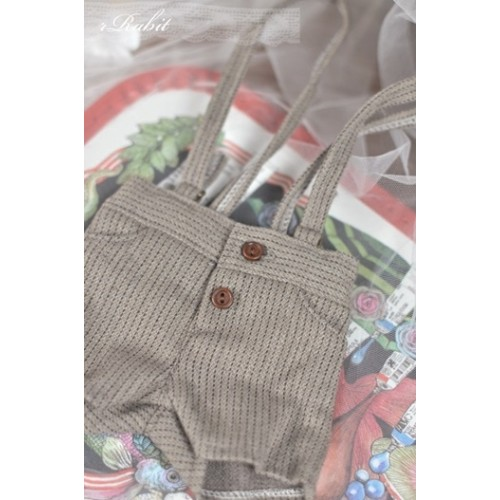 1/3  *Suspenders Short MG053 1811