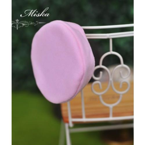 Miska - 1/3 & 1/4 Beret Hat - Pink