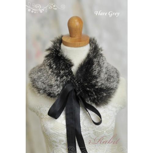 1/3 & 1/4 Hare Grey Mo Fur