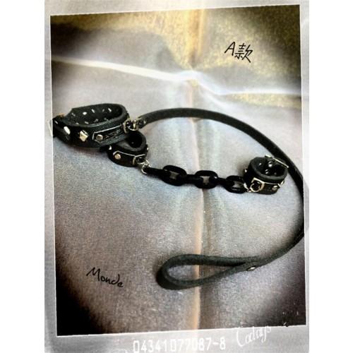 Monde *1/3 Chain/ Leather chain - A Set
