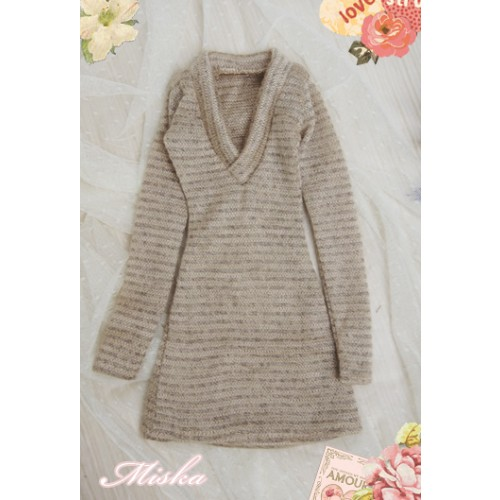 MISKA*1/3 Deep V Sweater - MSK008 012