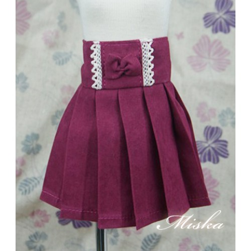 MISKA*1/4 High-waisted Pleated skirt - MSK012 004