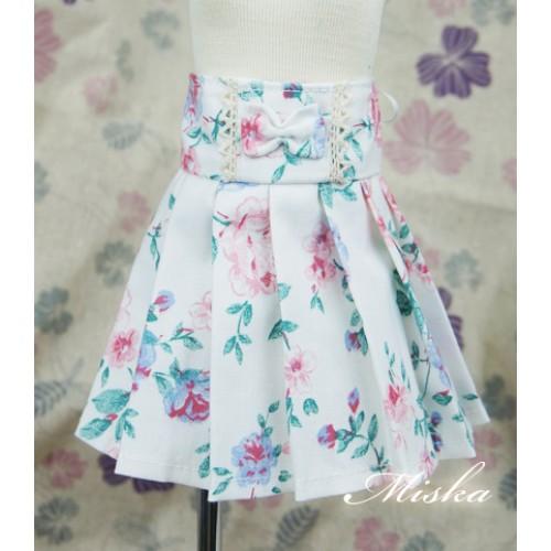 MISKA*1/4 High-waisted Pleated skirt - MSK012 009
