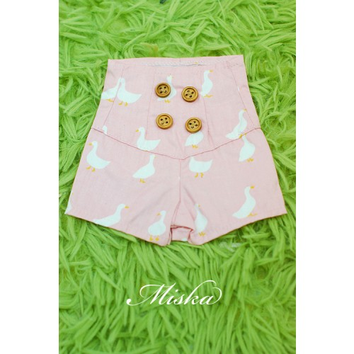 MISKA*1/3 Back tying Shorts - MSK016 002