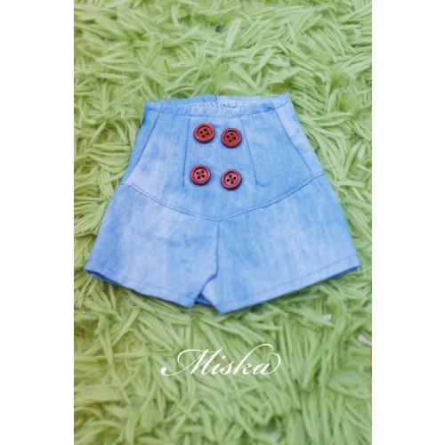 MISKA*1/4 Back tying Shorts - MSK016 010