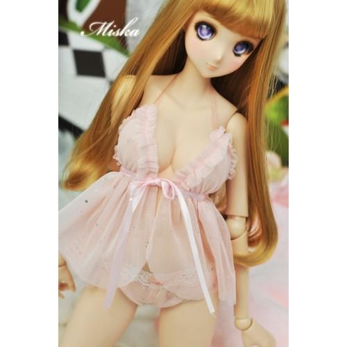 [Miska]1/3 Girl -SD10/13/16,DD [Private Party] - Sexy lingerie skirt - MSK023 004 (Peach)