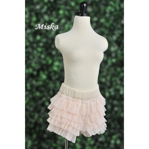 MISKA*1/3 Shiny Lace Pants - MSK024 004