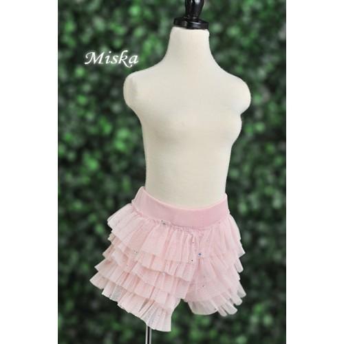 MISKA*1/3 Shiny Lace Pants - MSK024 005