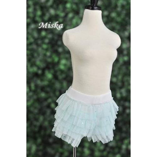 MISKA*1/3 Shiny Lace Pants - MSK024 006