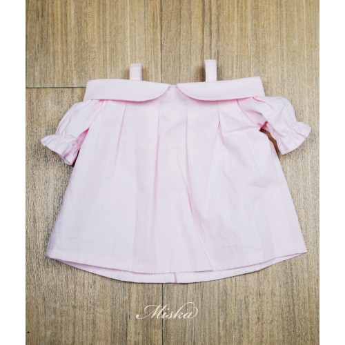 Miska+Lady Blouse MSK028 004 (Pink Cotton)