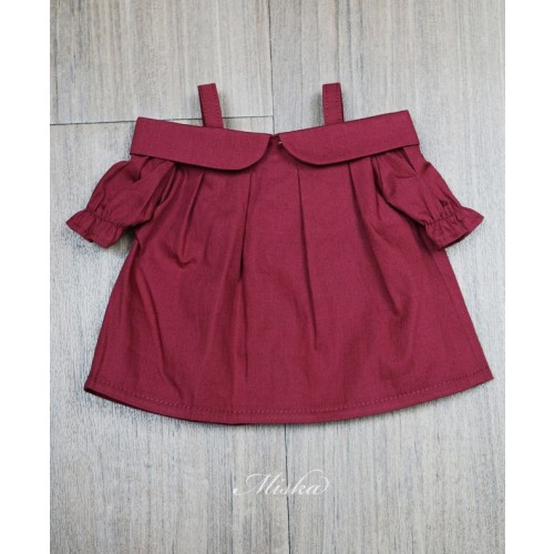 Miska+Lady Blouse MSK028 005 (Red Cotton)