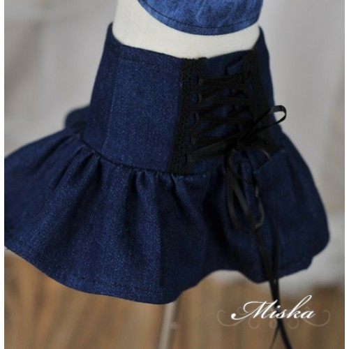 Miska+High Waisted A-line skirt MSK029 009