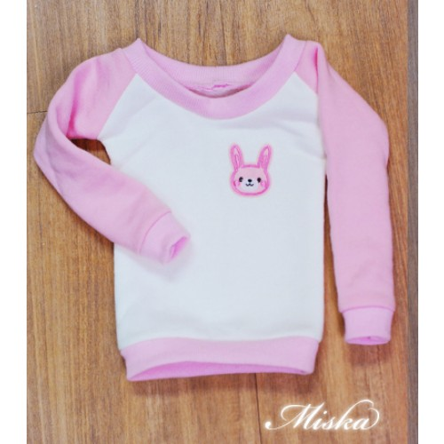 MISKA*1/3 Sweet Badge Sweatshirt  - MSK030 003