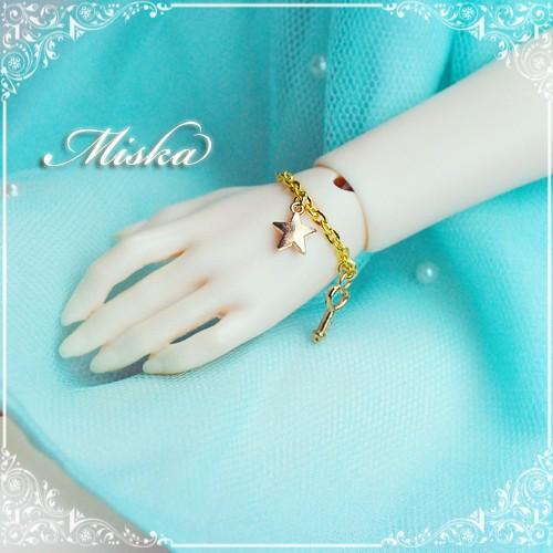 Miska ♡ 1/3 Bracelets - MSK-AC-150704 (start & Key)
