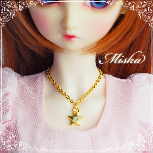 Miska ♡ 1/3 Necklace - MSK-AC-150712 (The start)