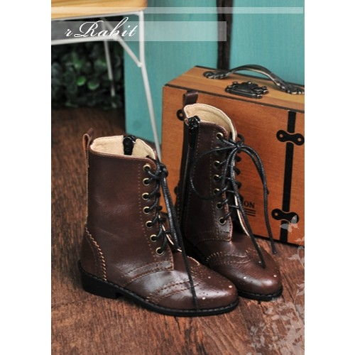 1/3 SD13 SD17 Antique Boots - RHL003 Chocolate