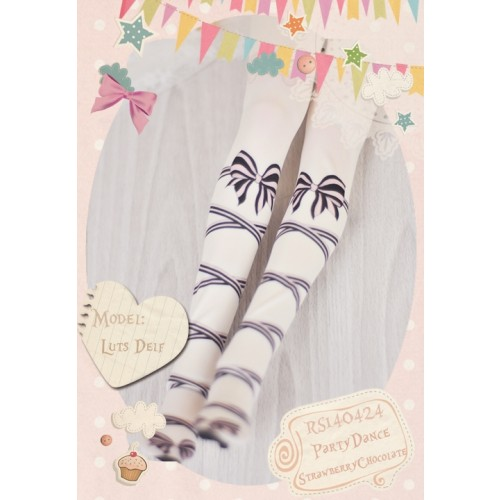 1/3 Socks - RS140424 ♥ PartyDance- Strawberry