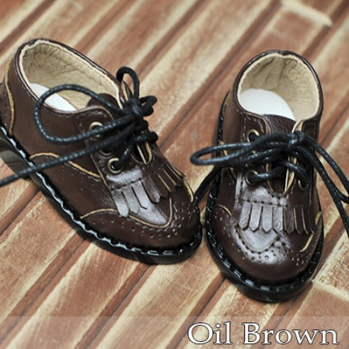 1/4 MSD MDD Holiday*Tassel Shoes *RSH002 Oil Brown