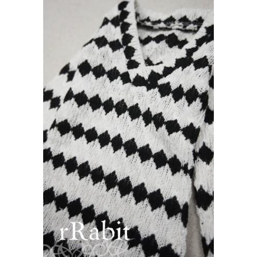 1/3 *L/S Deep V T-shirt* SH008 1607