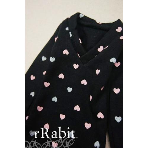 1/3 *L/S Deep V T-shirt* SH008 1613
