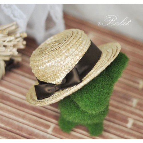 1/3 Straw Hat - 201411 - Brown
