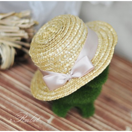 1/3 Straw Hat - 201411 - Light Pink