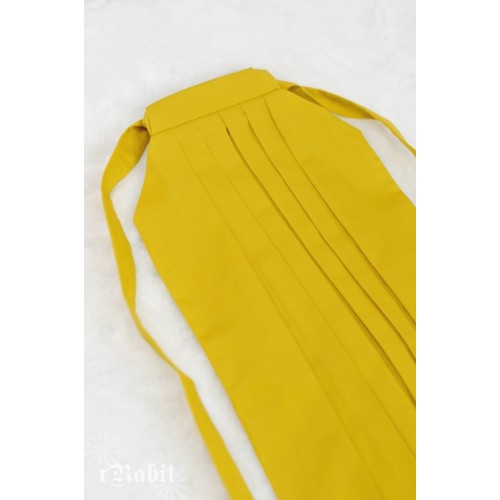 1/3 Hakama 行燈袴 (Japanese Bottom Dress) TS001 1708 (Lemon)
