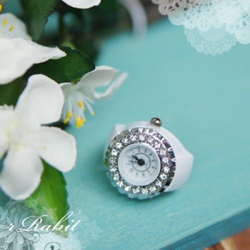 1/3 & 70cm up+ Size - Watch - W1702 - White