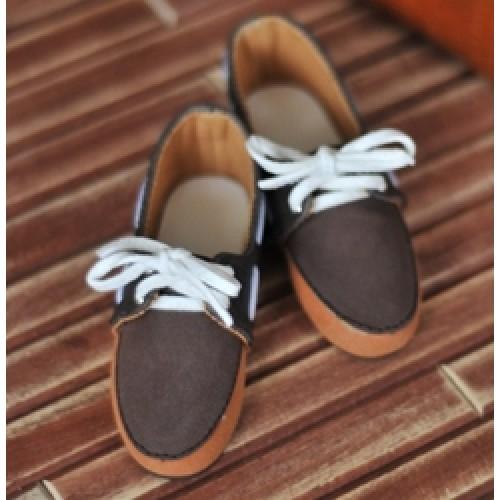 1/3 SD13 SD17 Deck shoes RHL004 Orange Chocolate