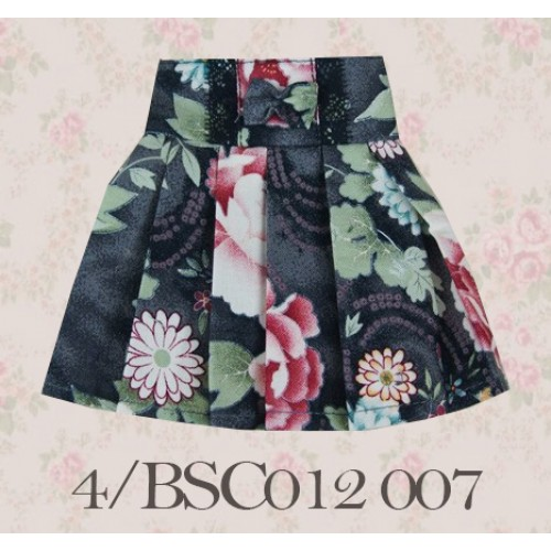 1/4 High-waisted Pleated skirt - BSC012 1507