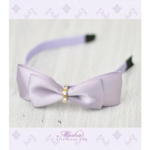 MISKA*1/3 Ribbon Headband * MSH002 - Lavender