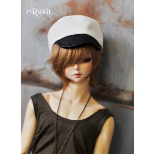 1/3 [Velvet Kepi Hat] AS005 005 (White)