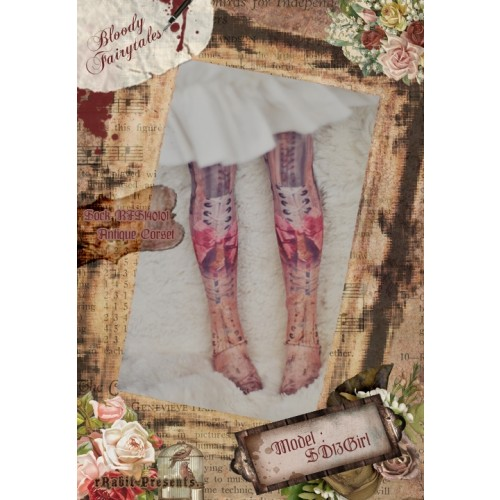 1/3 ♣Bloody Fariytales♣ Socks BFS140101 Antique Corset