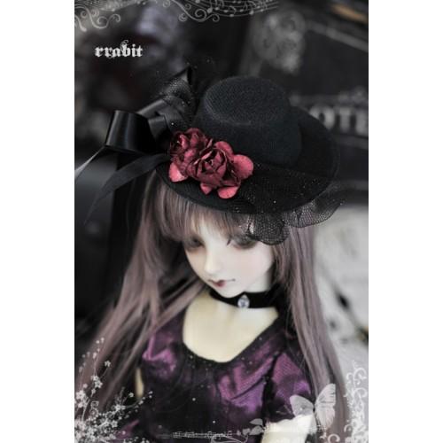 1/3 Halloween Rose Hat