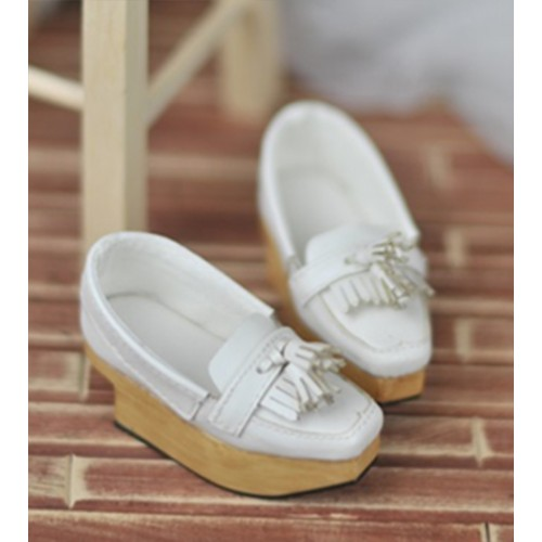 SD10/13 Girl [BLS002] Tassel Rocking Shoes - White