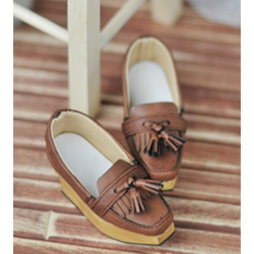 SD13Boy [BLS002] Tassel Rocking Shoes - Dusty Straw