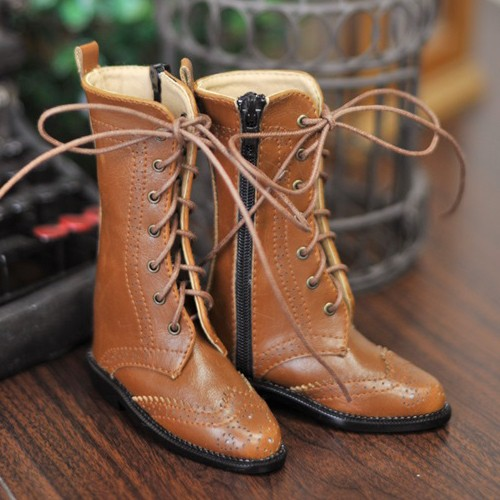 1/3 Girl SD10/13/16/DD Wingtips boots BLS005 - Maple Sugar