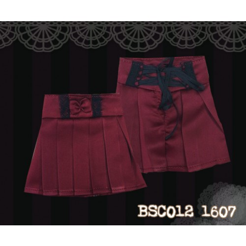 1/4 High-waisted Pleated skirt - BSC012 1607