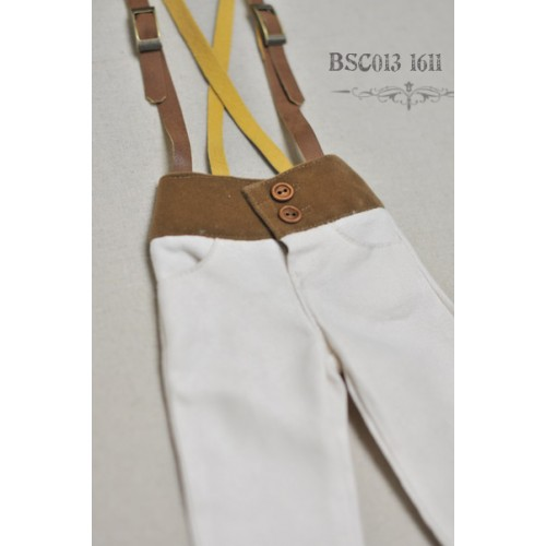 1/3 Capri Pants with Suspenders  BSC013 1611