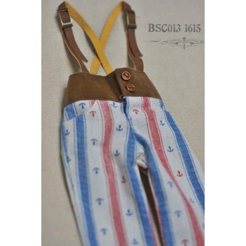 1/4 Capri Pants with Suspenders  BSC013 1615