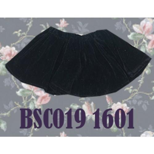 1/3 Velvet Skirt - BSC019 1601 (Black)