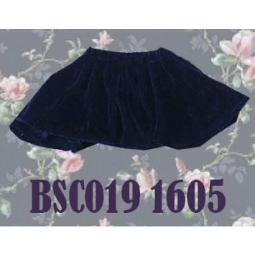 1/4 Velvet Skirt - BSC019 1605 (Blue)