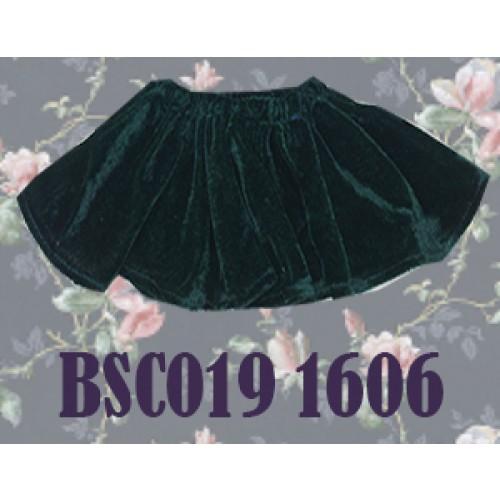1/4 Velvet Skirt - BSC019 1606 (Green)