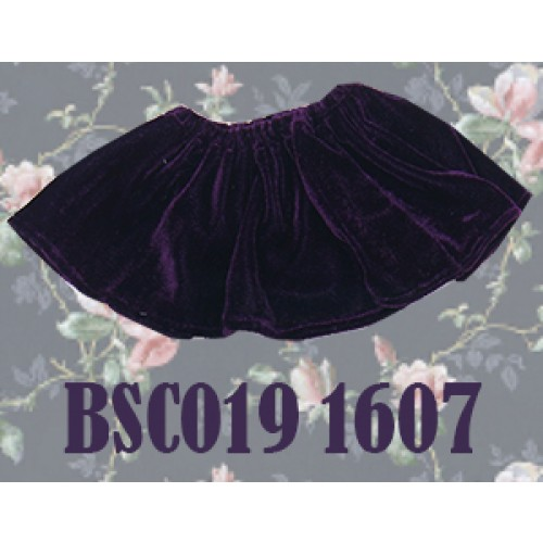 1/3 Velvet Skirt - BSC019 1607 (Violet)