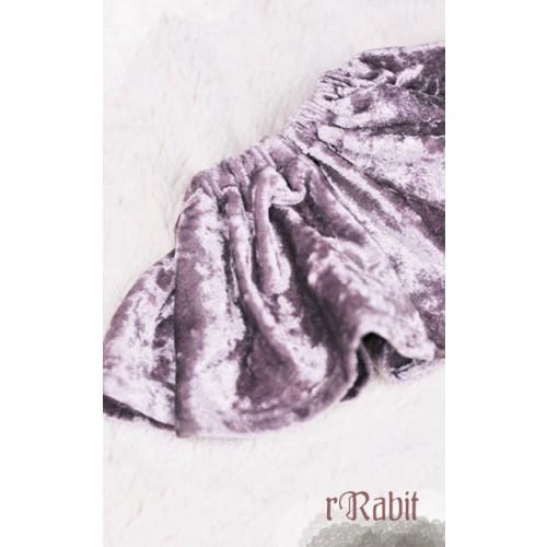 1/4 Velvet Skirt - BSC019 1703 (Lavender)